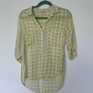 Cloth & Stone rayon shirt S